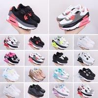 90 2020 bambini bambino calza i pattini correnti delle scarpe  tennis bambini max bianco Pattino nero di sport classico cuscino Trainer Air formato di superficie 28-35