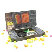 Fishing Accessories Carp Tackle Box Terminal System Swivels Accessory Storage Bait Lure Hook Double Sided High Strength Case