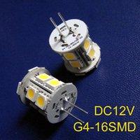 Birnen Hohe Qualität DC12V G4 LED Crystal Lights Dekorative Licht 12VDC Birne GU4 50pcs / lot