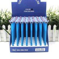 40 Adet / grup Yaratıcı Dikiş Jel Kalem Sevimli 0.5mm Siyah Mürekkep İmza Kalemler Promosyon Hediye Ofis Okul Malzemeleri 210330
