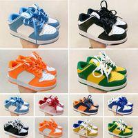 Top Calidad Chunky Dunks SB Niños Running Shoes Boys Girls Casual Fashion Sneakers Athletic Children Caminando Transportes Deportivos Sports EUR 26-35