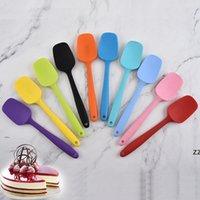 Silikon Krem Tereyağı Spatula Araçları Mutfak Karıştırma Hamuru Kazıyıcı Fırça Butters Mikser Kazımcıları Dayanıklı Pişirme Kek Spatulas HWB8574