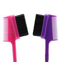 New Products Controle de borda Doubel Doubel Side Hair Brush Pente Bordas Smooths Bordas Estilo De Cabelo Salão Profissional Acessórios Q Jllkgt