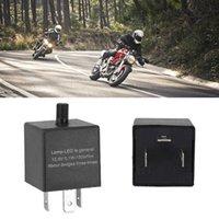 Auto Elektronische Einstellbare Kurzfristig LED Blinker Licht 3pins Auto Motorrad LED Blinker Relais Blinker Flasher Relay Universal 12V