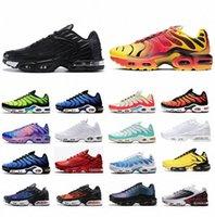 vapormax plus tn vapors vapor max TN Kadın Koşu Ayakkabıları Erkek Eğitmenler Chaussures Üçlü Siyah Lazer Mavi Bred Hiper Menekşe Gümüş Kırmızı Duman Gri Açık Spor Sneakers Boyutu