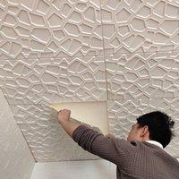 Mulit Style 3D Etiquetas de pared de la pared imitación ladrillo dormitorio decoración impermeable autoadhesivo fondo de pantalla cocina cocina telón de fondo decoración 636 S2