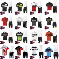 Scott Team Cycling Mangas cortas Jersey Babero Shorts Sets MTB Bike Ropa transpirable Racing Bcycle Outfits Outting Sportswear S21052502