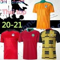 2020 2021 Egitto M.salah 10 Salah Costa d'Avorio Ghana Marocco Maglie da calcio 20 21 Casa Away Jersey Camicie da calcio