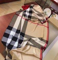 Gute Designermarken Damenschal Deluxe Herbst Thermische Schals Hohe Qualität Kaschmirschals Dimensional 180 * 70cm Kein Feld