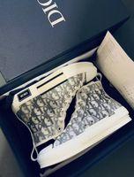 Дизайнерские Обувь B23 Кроссовки Колиные Мужские Кроссовки Технический Холст Кожа Женщины Повседневная Обувь Высокое Качество с Коробка Люксы Тренажеры Размер 35-46