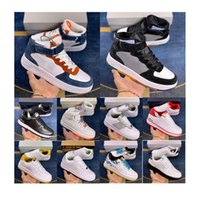 2021 Classic Airforce 1s Zapatillas para correr Hombres Mujeres Flyline Fuerzas Deportes Skateboarding Ones High Low Cut Black Black Shadow Cuero Trainers Doker Sneakers