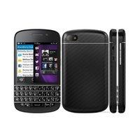 تم تجديد الهواتف الأصلية BlackBerry Q10 US EU المزدوج الأساسية 1.5 جيجا هرتز 2 جرام رام 16 جرام روم 8.0MP 4G LTE مقفلة الهاتف