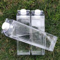 Kitchen Leakproof Creative Transparent Bottle Drinkware Outdoor Climbing Tour Camping Children Men Milk Water Bottles 214K