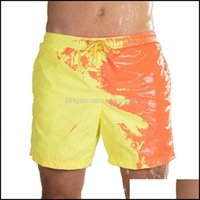 Two-Piece Suits Equipment Sports & Outdoorsmagical Change Color Summer Men Swimming Trunks Swimwear Swimsuit Quick Dry Bathing Shorts Beach