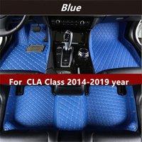 لمرسيدس بنز CLA Class 2014-2019YEAR عدم الانزلاق غير سامة الكلمة حصيرة سيارة أرضية