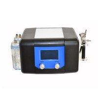 3 in 1 Hydra Gesichtsbehandlung Hydra Dermabrasion Diamant Microdermabrasion Sauerstoff Düsenschale Sauerstoffspray Gesichtshautschälmaschine mit Touchscreen