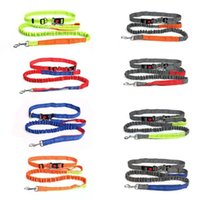 Dog Collars & Leashes Exquisitely Designed Durable 50226 Anti-rushing Retractable Elastic Nylon Pet Running Traction Rope