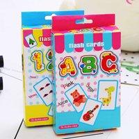 لعب الأطفال التعليمية التنوير التعليم المبكر اللغة الإنجليزية محو الأمية ABC بطاقة المعرفية