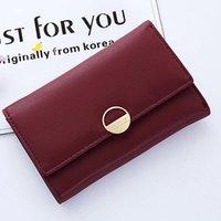 Wallets Fashion 1Pcs Ladies Large Capacity Card Holders Minimalist Long Clutches Women Handbags Money Purse 2 Choices