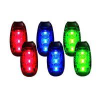 1pc LED AVVERTENZA Flash Light Light Light Light Luci Stroboscopiche per Gruppo Daytime Camminare Bicicletta Bici Bicicletta Bambini Bambino Donna Dog Dog Pet Runner 657 Z2