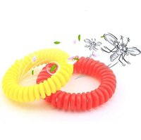 Anti Mosquito Repellent Bracelet Silicone Wristband Multicolor Pest Control Bracelets Insect Protection Camping Outdoor Pest Tool GGA3482-9