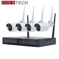 1.0mp P2P Home Security Wireless NVR Kit WIFI CCTV-System Indoor Outdoor-IP-Kamera-Überwachung Set Bewegungserkennungssysteme