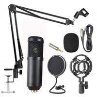 Professional Host Gravação Microfone V8 Live Sound Card Set Voice Trocador Externo para Microfones de Broadcast