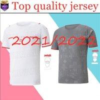 2021 2022 스위스 플레이어 버전 축구 유니폼 20 21 22 Shaqiri Seferovic Inler Embolo 홈 팬들이 팬들 축구 셔츠