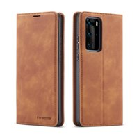 Luxury Leather Flip Wallet Cases For Huawei P20 P30 P40 Pro Lite Nova 3e 4e 7i P-Smart2020 Magnetic Card Phone Cover Coque