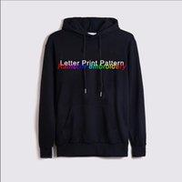 Mode Sweats à capuche à capuche pour hommes pour femmes pour l'automne hiver Casual Sweatshirts Contraste Vêtements avec motif de lettre Impression de haute qualité