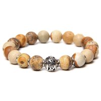 10 мм матовые каменные бусины браслет мода натуральные амазониты aagtes Jaspers бисером круглый шар шарман ювелирные изделия мужчины женщины подарок бисером, пряди