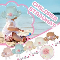 Caps & Hats Toddler Kids Baby Girl Floral Breathable Hat Strawhat Bucket Cap Sunhat Soft Comfortable Prefect Daily Easy To Take Off