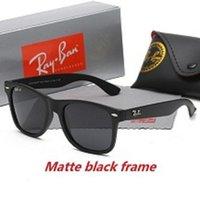Hohe Qualität Polarisierte Linse Ray Sonnenbrille Vintage Pilot UV400 Schutz Männer Bans Frauen Ben Wayfarer Sonnenbrille mit Fallkiste 2140
