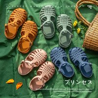 Sandals Summer Children's Baby Toddler Girls Soft Non-slip Princess Shoes Candy Jelly Beach Casual Boys Roman Slippers