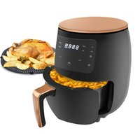 4.5Lmultifunction Air Fryer Pan sem óleo de saúde livre Fritadeira Fogão Smart Touch LCD Deep AirFryer Pizza fritadeiras para batatas fritas 220V