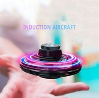 Flynova Ufo toy Flying Fidget Spinner Hand Operated Mini Drone Induction Aircraft Toys Quadrocopter Dron Juguetes