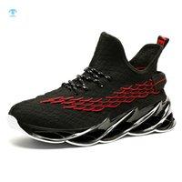 Thriller 2021 homem ao ar livre tênis de corrida livre mens movimentando-se andando esportes respirável mola lâmina de alta qualidade ginásio lace-up athietic sneakers