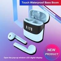 Battery Status Display TWS Wireless Earphones Bluetooth 5.0 P23 Mobile Headphones Earbuds Half in-ear buds With Charging Case