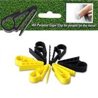Accesorios de golf Cigarros Titular de cigarrillos Clips portátiles Pinza Minder para golfistas Carros Ayudas de entrenamiento