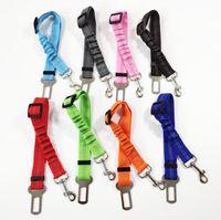 10 pcs cão de estimação trelas de segurança cinto de segurança elástico líder de tração cadeia de cão de tração