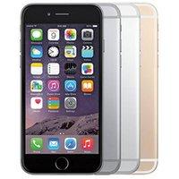 Receitado Original Apple iPhone 6 Plus com impressão digital 5.5 polegadas A8 chipset 1GB RAM 16/64 / 128GB ROM IOS 8.0MP desbloqueado LTE 4G telefone por atacado DHL 10pcs gratuitos
