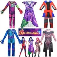Enfant Comic Concendants 3 Cosplay Cosplay Cosplay Costume Halloween Filles Villain Evie Disguise Combinaison Evil Princess Audrey Up