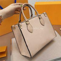 2021 дизайнеры сумки люкс роскошки женщин Onthego кошельки сумка сумка из известного рюкзака кошелек кроссвяще
