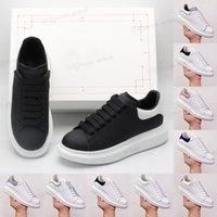 [Kutusu ile] Tasarımcı Moda Espadrilles Rahat Ayakkabılar Deri Dantel Yukarı Beyaz Siyah Erkek Kadın Flats Platformu Espadrille Boy Lüks Kadife Süet Düz Sneakers