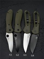 Schlussverkauf! Benchmade BRS Griptilian 551/550 Messer Nylonfasergriff CPM-20CV Klinge Outdoor Survival EDC-Werkzeug Camping Jagdküchen Taschenmesser von BM31 BM42