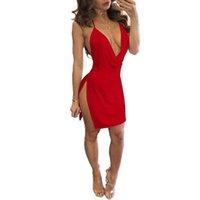 Женское сексуальное женское белье Babydoll кружева V-образным вырезом платье ночное белье ночное белье женское белье белье экзотический порно одежда женское бельё эротическое 210515