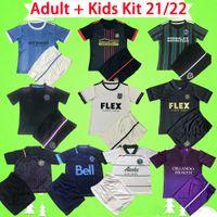 Adulto + Kids Kit 2021 2022 MLS INTER MIAMI camisa de futebol Los Angeles FC Galaxy LA 21 22 Vancouver Atlanta United Columbus camisa de futebol meninos Portland Timbers new York
