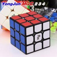 Yongjun المكعب المغناطيسي YJ 3X3X3 MGC V2 MGC 2 3 4 النخبة م 4x4x4 ماجيك الألغاز المغناطيس مكعب YJ MGC 2x2 3x3 4x4 سرعة ماجيك مكعب