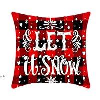 Подушка чехол Санта-Клаус Рождественская елка снеговика лось наволочки красочные наволочки дома диван-декор автомобиля наволочки RRD11118