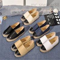 2021 Moda İşi Bayan Espadrilles Balıkçı Koyun Deri Ayakkabı Rahat Kadın Sneakers Bayanlar Düz Slip-On Elbise Ayakkabı Boyutu 35-42